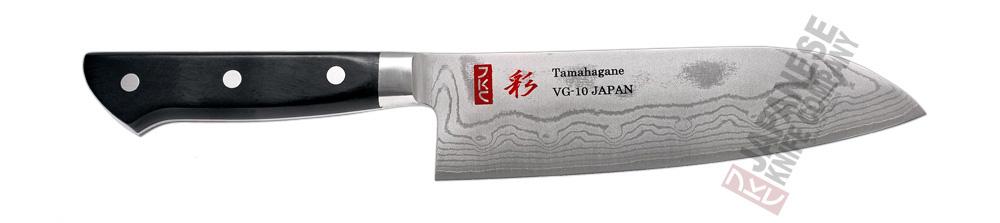 Santoku en japansk kockkniv
